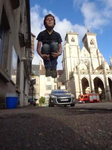 Ethan Jumps In Semur-en-Auxois